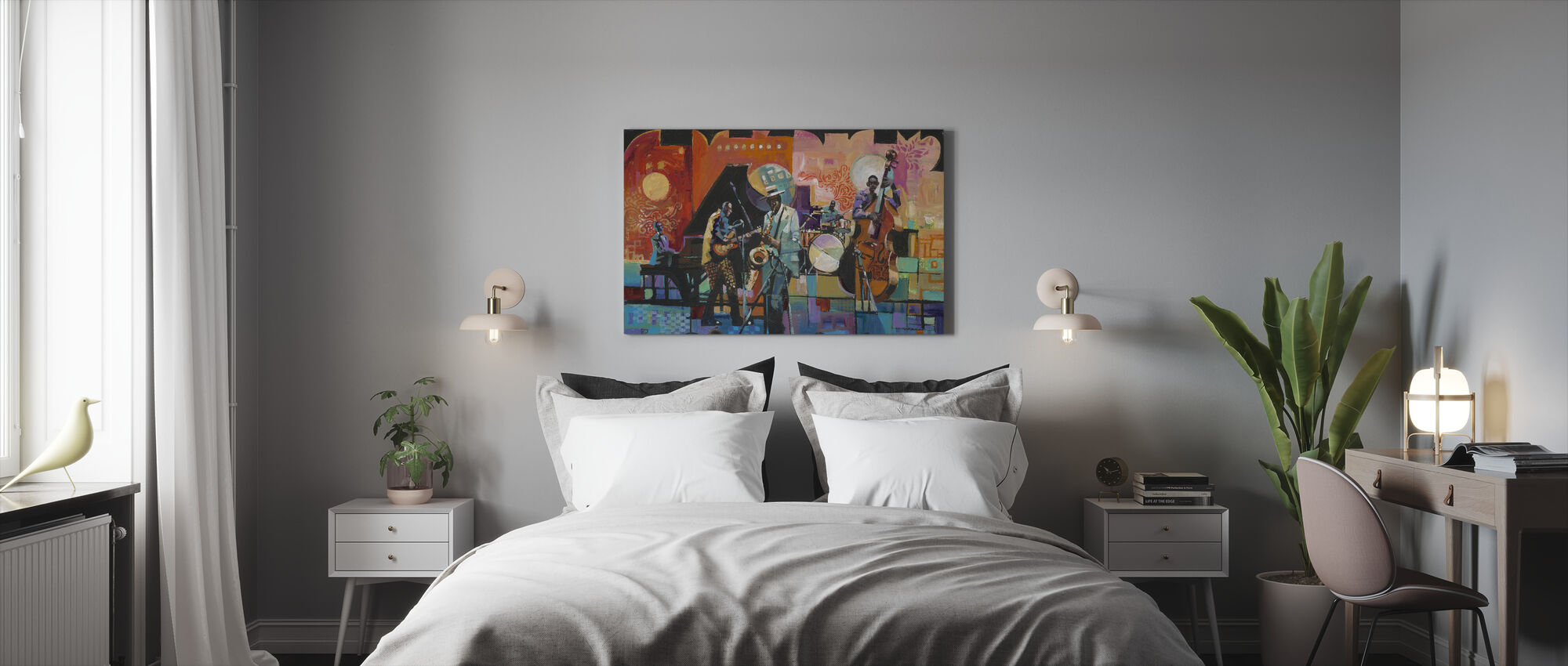 That Jazz - Canvas print - Bedroom