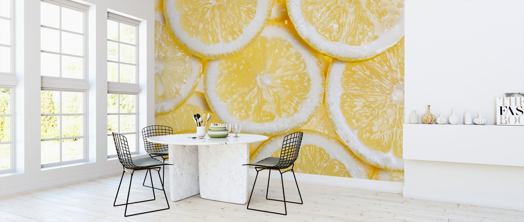 Orange Fruit - Wallpaper - Kitchen