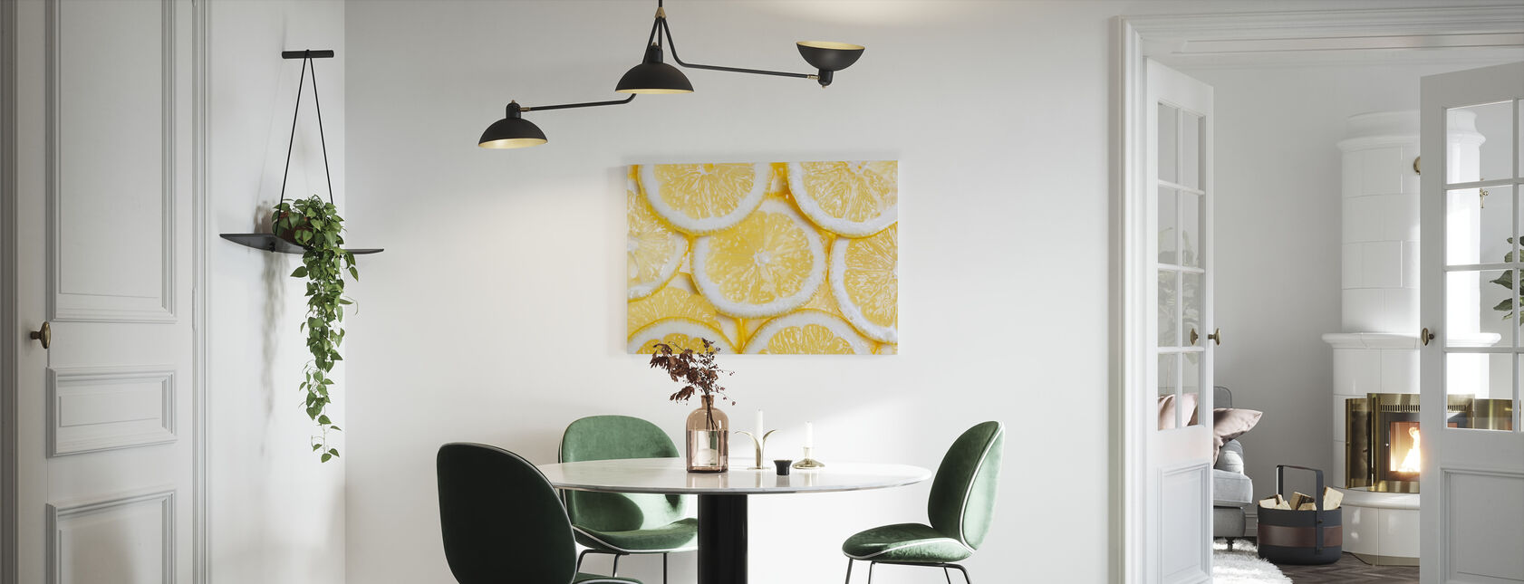 Orange Fruit - Canvas print - Kitchen