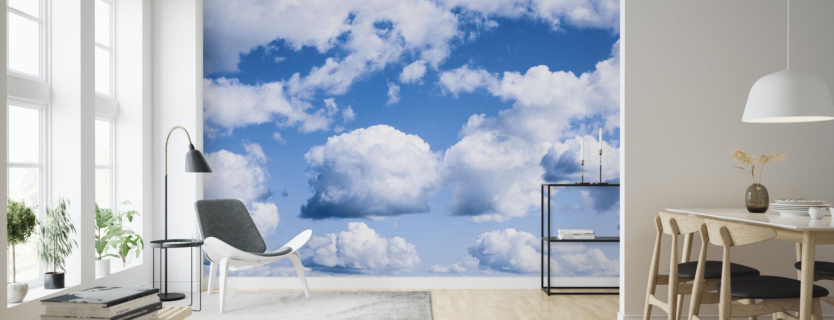 Cumulus pilvet - Tapetti - Olohuone
