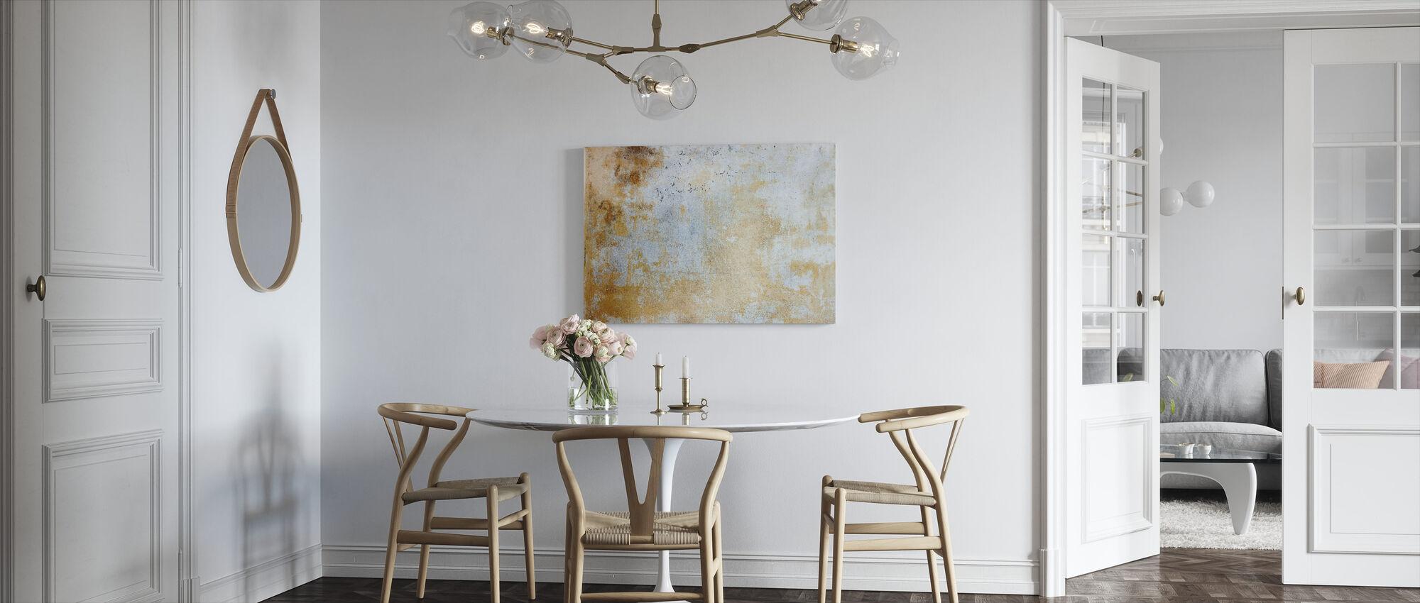 Rusty Wallpaper - Canvas print - Kitchen