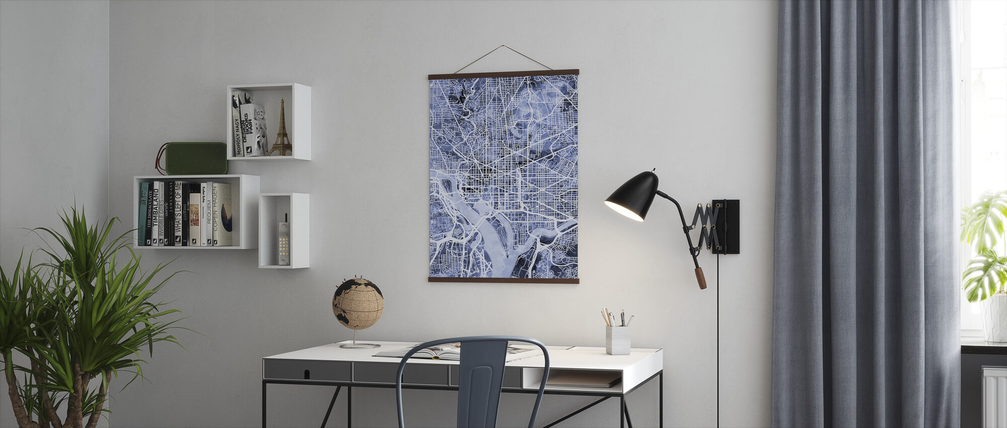 Washington DC Street Map - Poster - Office