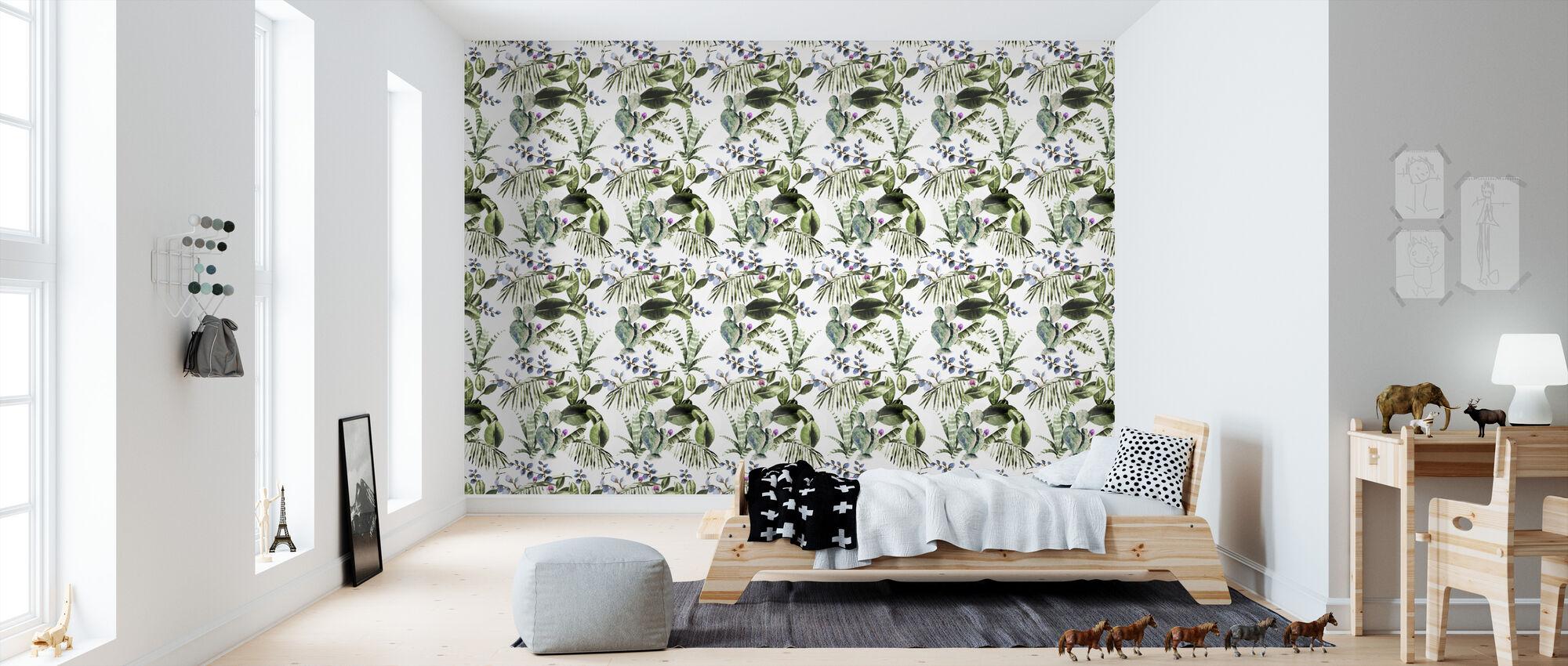 Cactus - Wallpaper - Kids Room