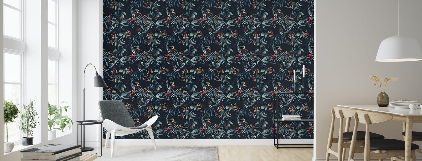 Dark Tropico - Wallpaper - Living Room