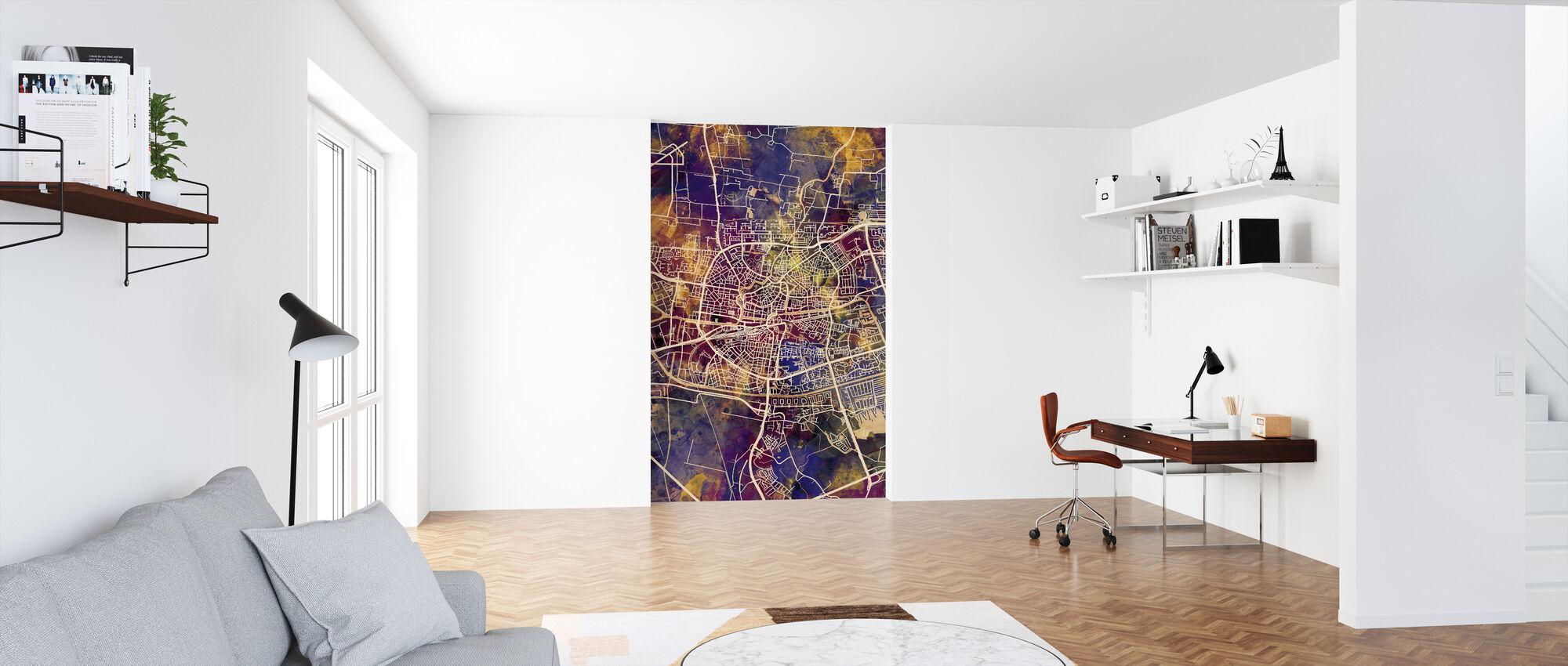 Leeuwarden Nederland bykort - Tapet - Kontor