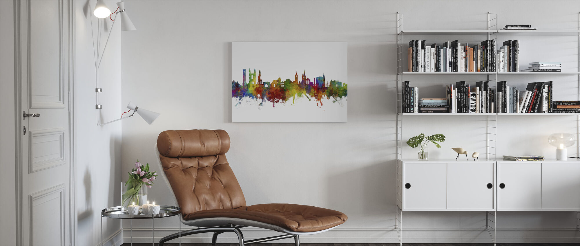St Andrews Scotland Skyline - Canvas print - Living Room