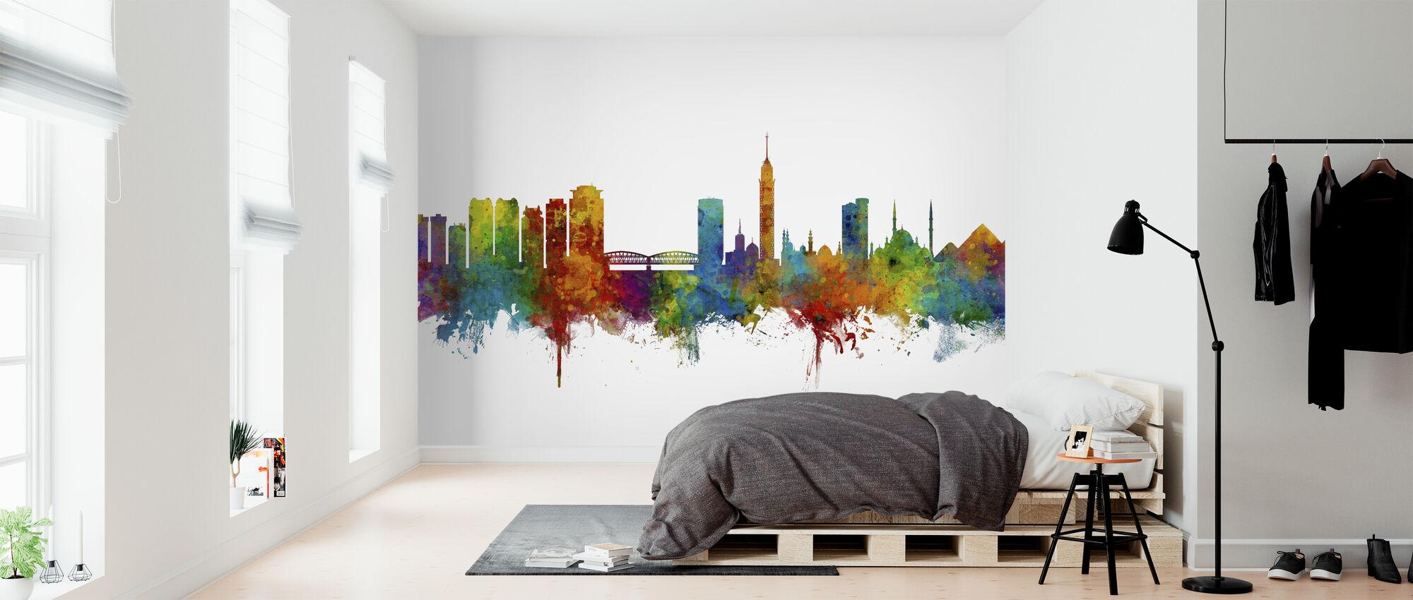 Cairo Egypt Skyline - Wallpaper - Bedroom