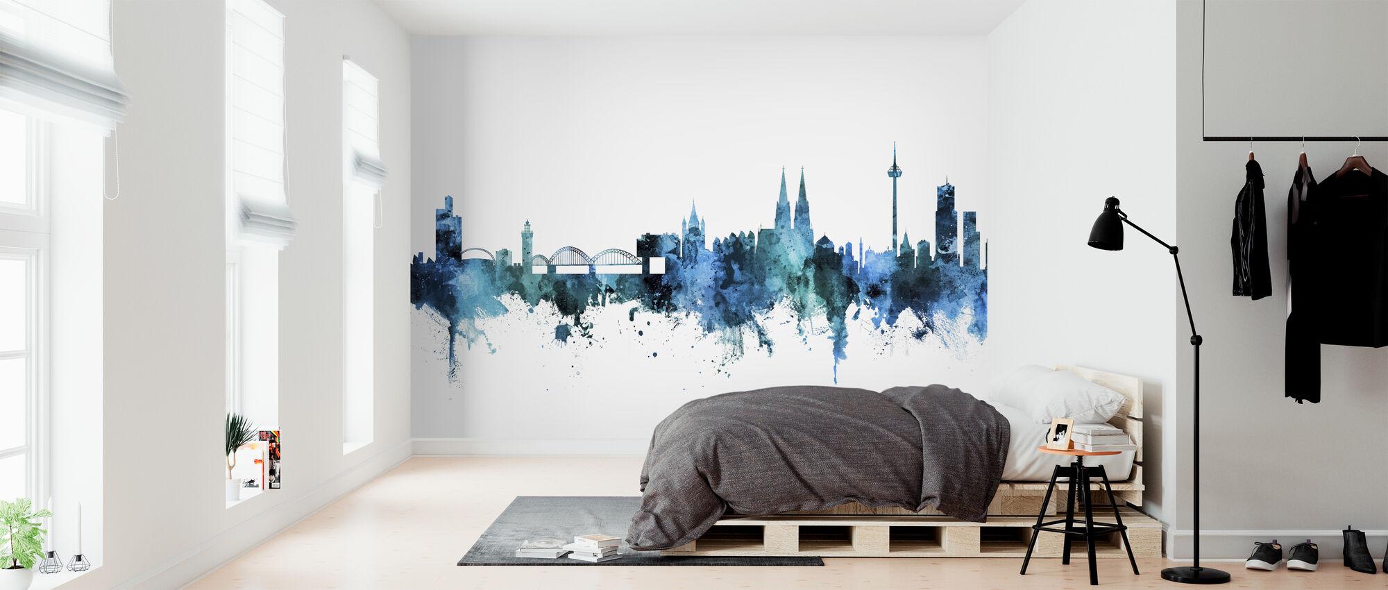 Cologne Germany Skyline - Wallpaper - Bedroom
