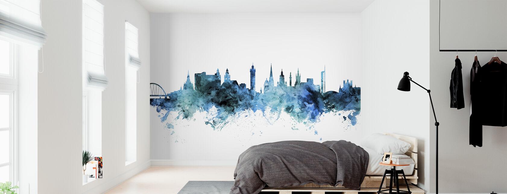 Glasgow Skyline Schottland - Tapete - Schlafzimmer