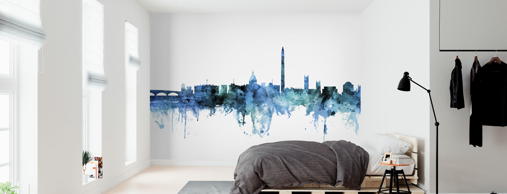 Washington DC Skyline - Wallpaper - Bedroom