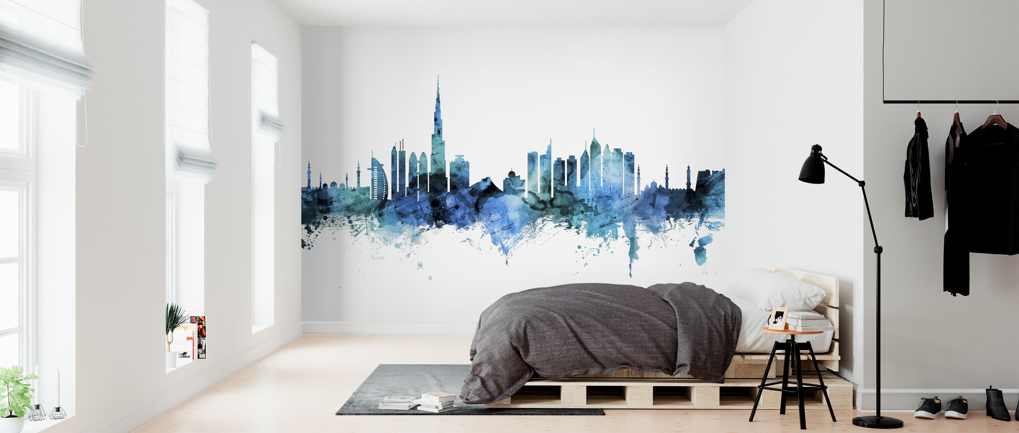 Dubai Skyline - Wallpaper - Bedroom