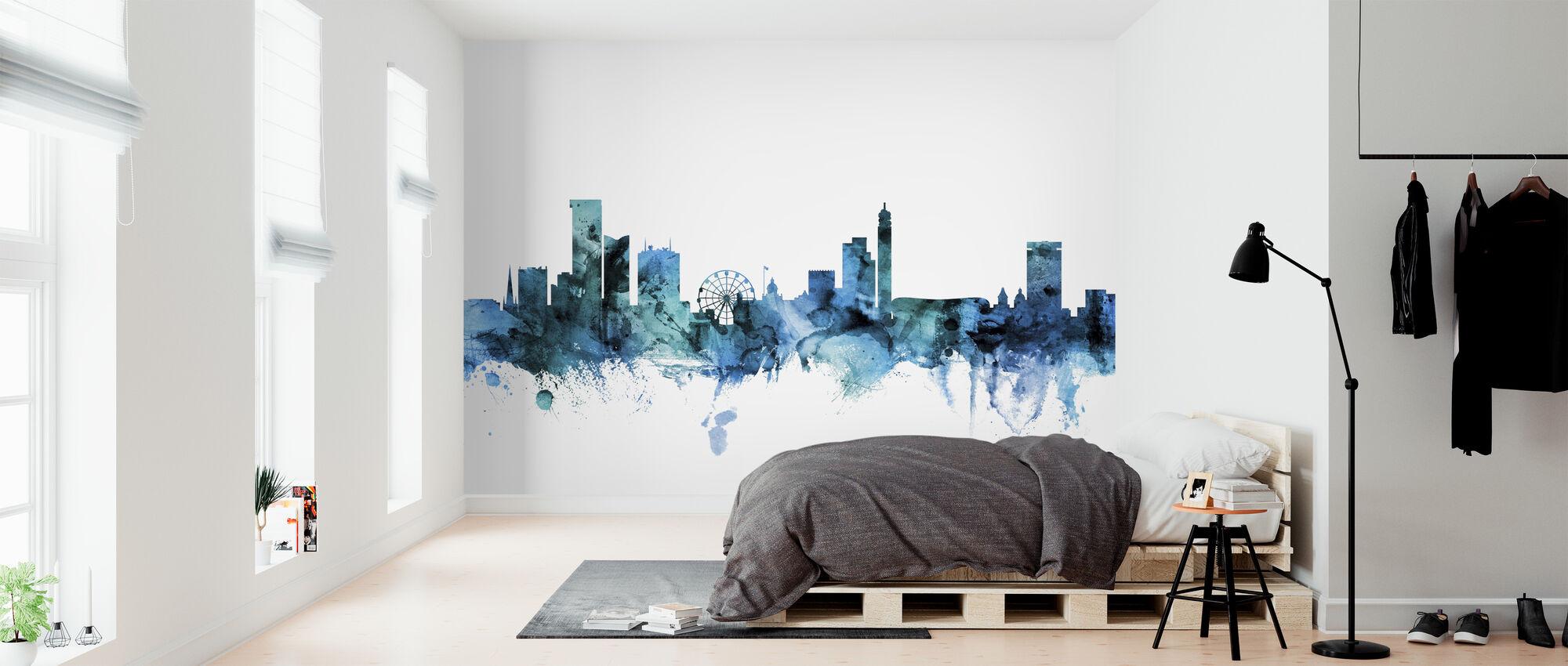 Birmingham England Skyline - Wallpaper - Bedroom