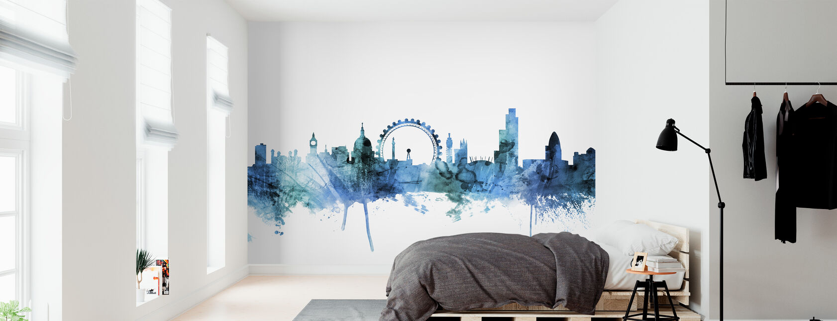 London England Skyline - Wallpaper - Bedroom