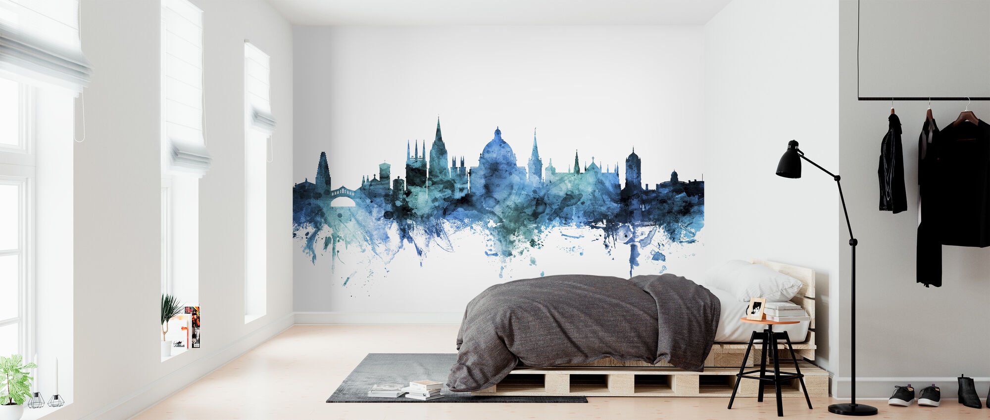 Oxford England Skyline - Wallpaper - Bedroom