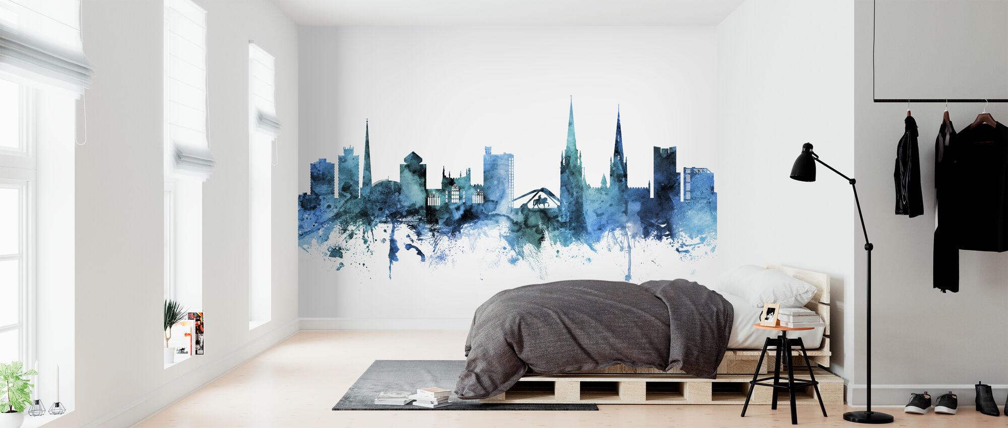 Coventry England Skyline - Wallpaper - Bedroom