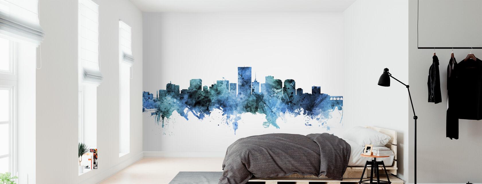 Richmond Virginia Skyline - Wallpaper - Bedroom
