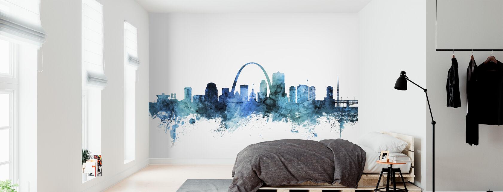 St Louis Missouri Skyline - Wallpaper - Bedroom