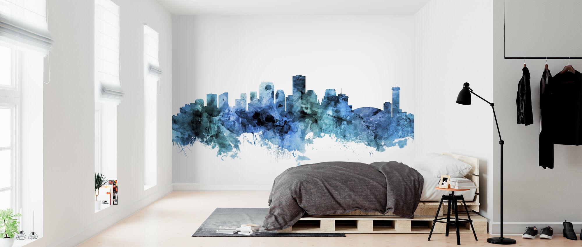 New Orleans Louisiana Skyline - Wallpaper - Bedroom