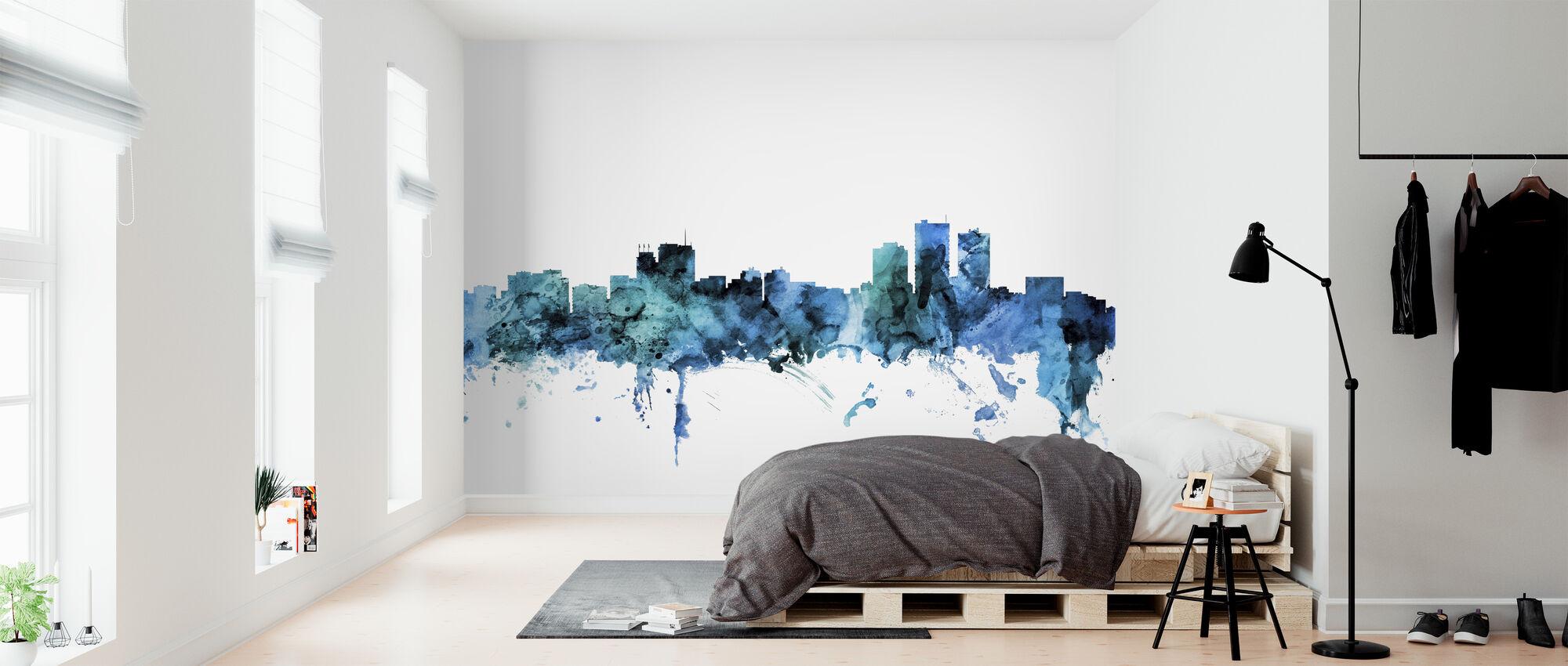 Anchorage Alaska Skyline - Wallpaper - Bedroom