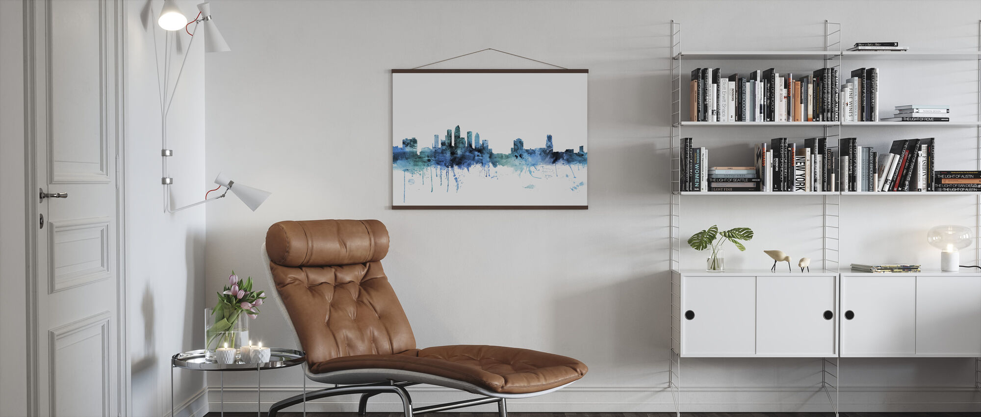 Tampa Florida Skyline - Poster - Living Room