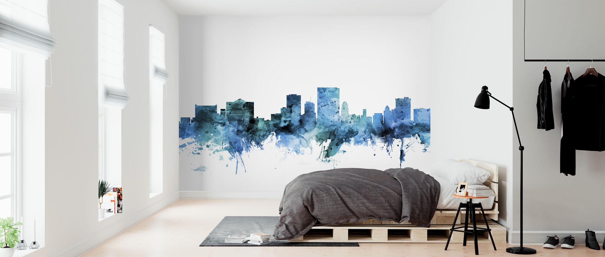 El Paso Texas Skyline - Wallpaper - Bedroom