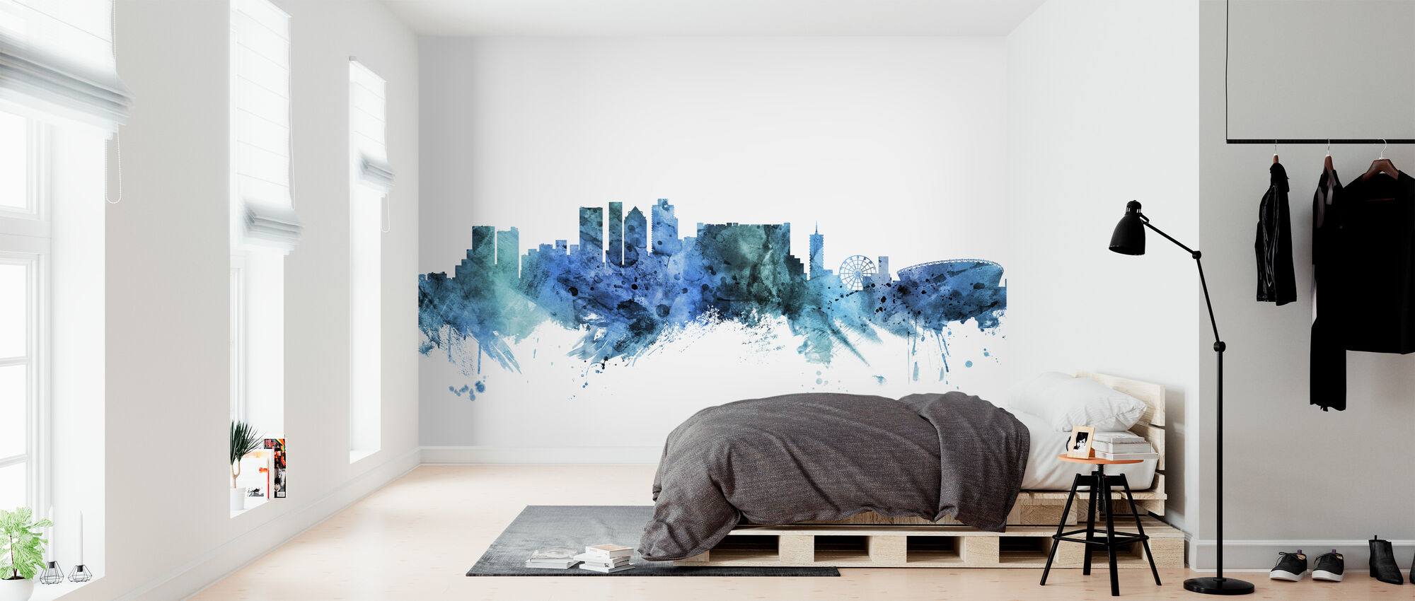 Cape Town South Africa Skyline - Wallpaper - Bedroom