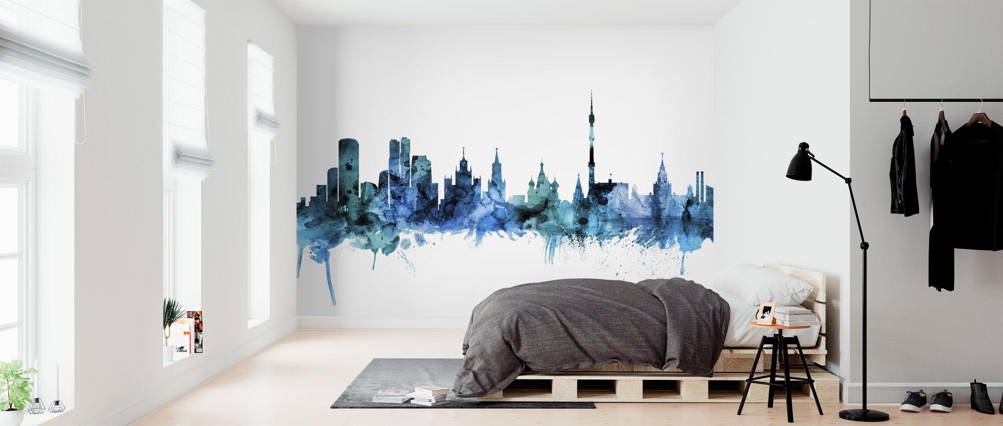 Moscow Russia Skyline - Wallpaper - Bedroom