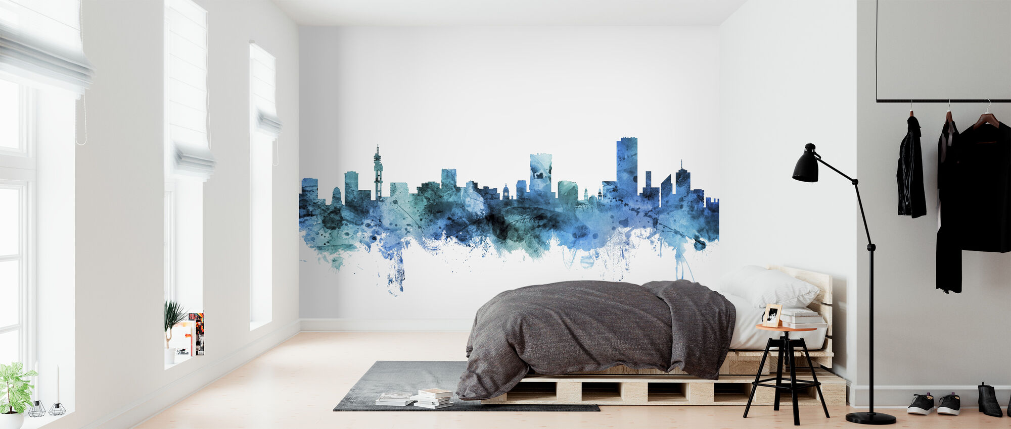 Pretoria South Africa Skyline - Wallpaper - Bedroom
