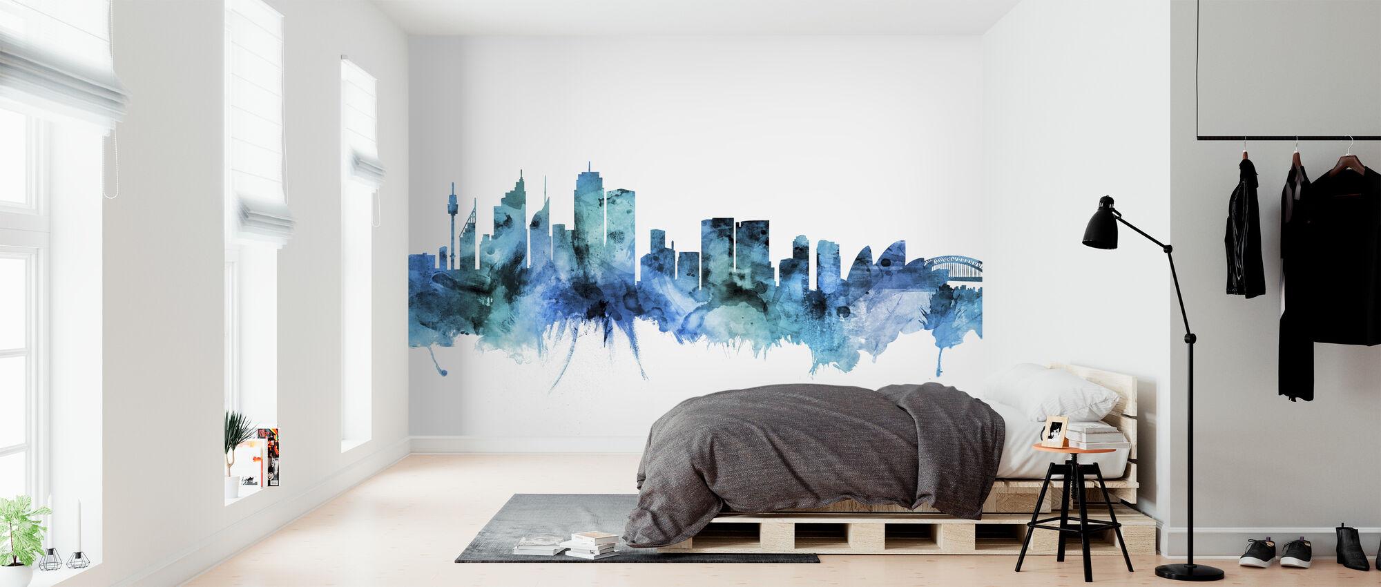 Sydney Australia Skyline - Wallpaper - Bedroom