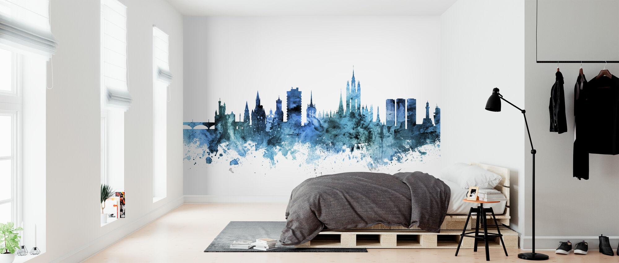 Aberdeen Scotland Skyline - Wallpaper - Bedroom