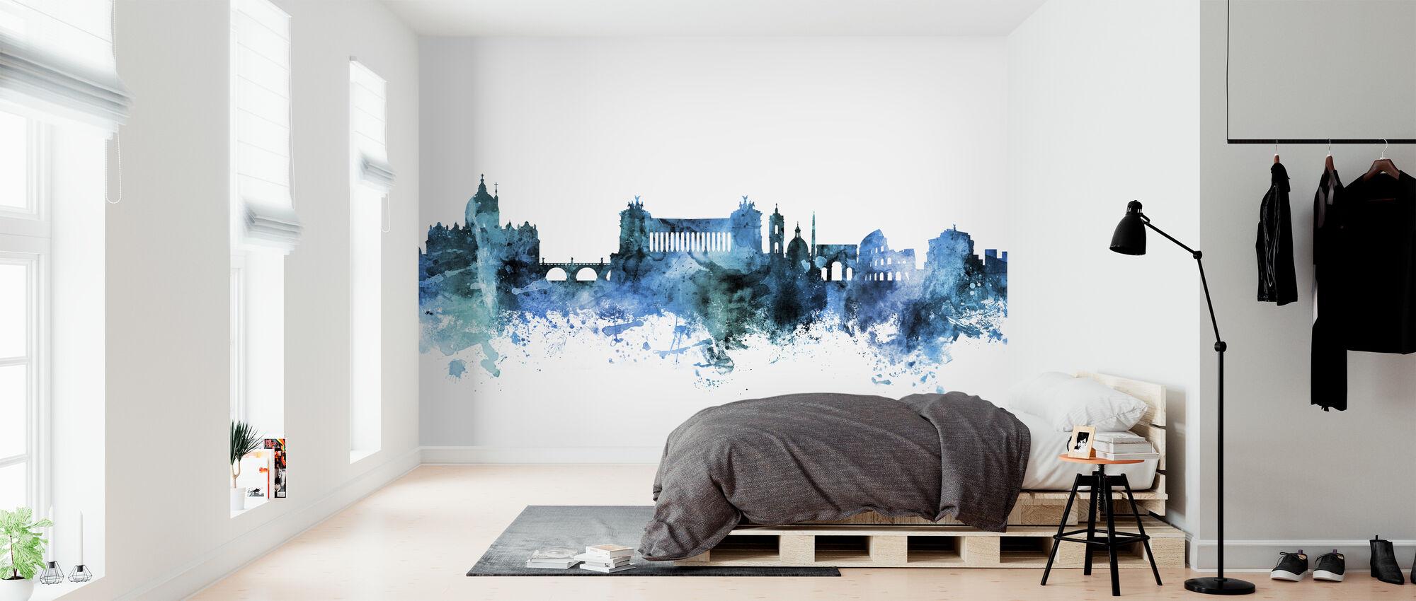 Rome Italy Skyline - Wallpaper - Bedroom
