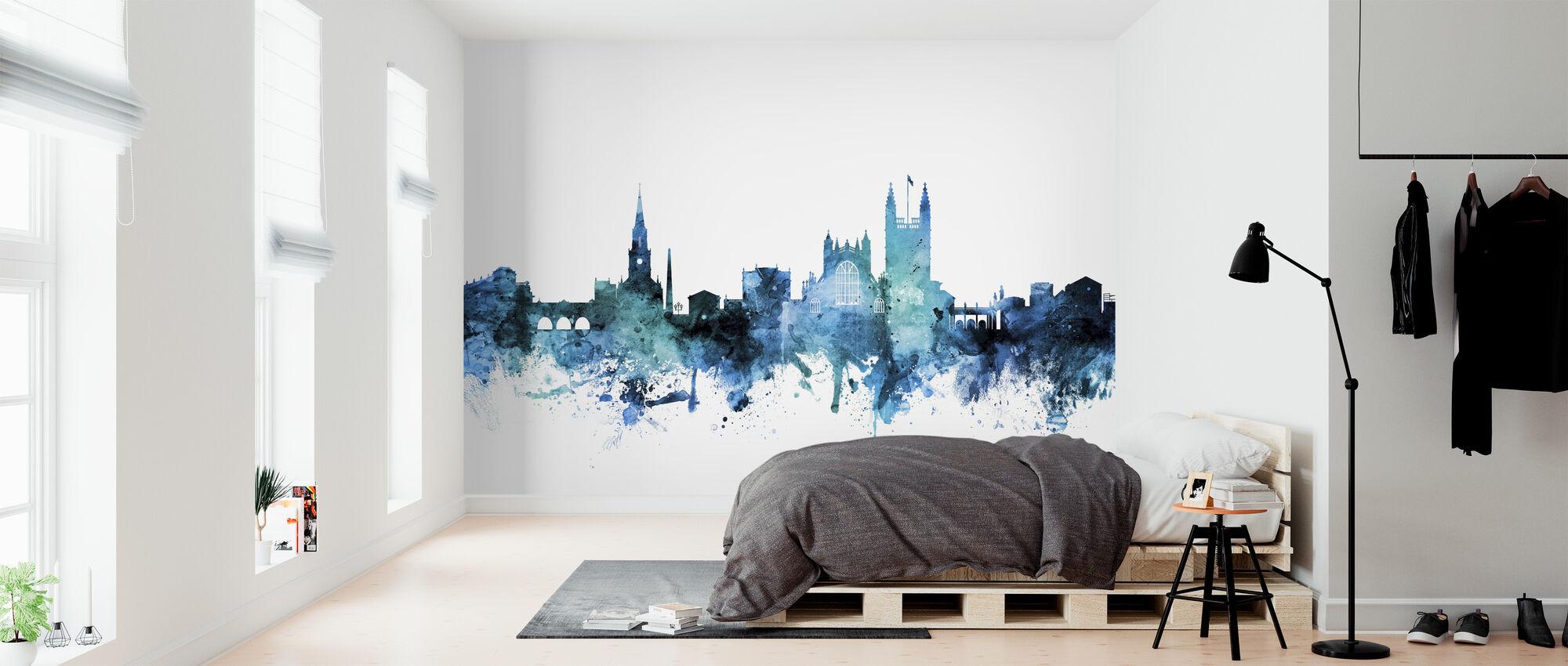 Bath England Skyline Cityscape - Wallpaper - Bedroom