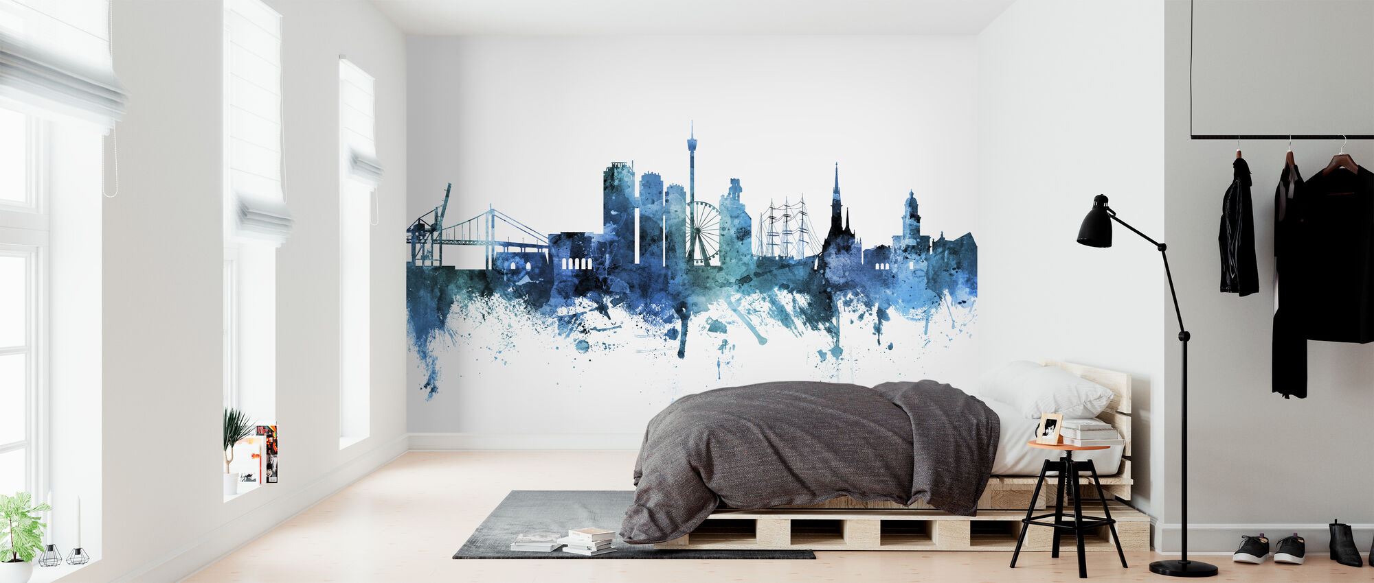 Gothenburg Sweden Skyline - Wallpaper - Bedroom