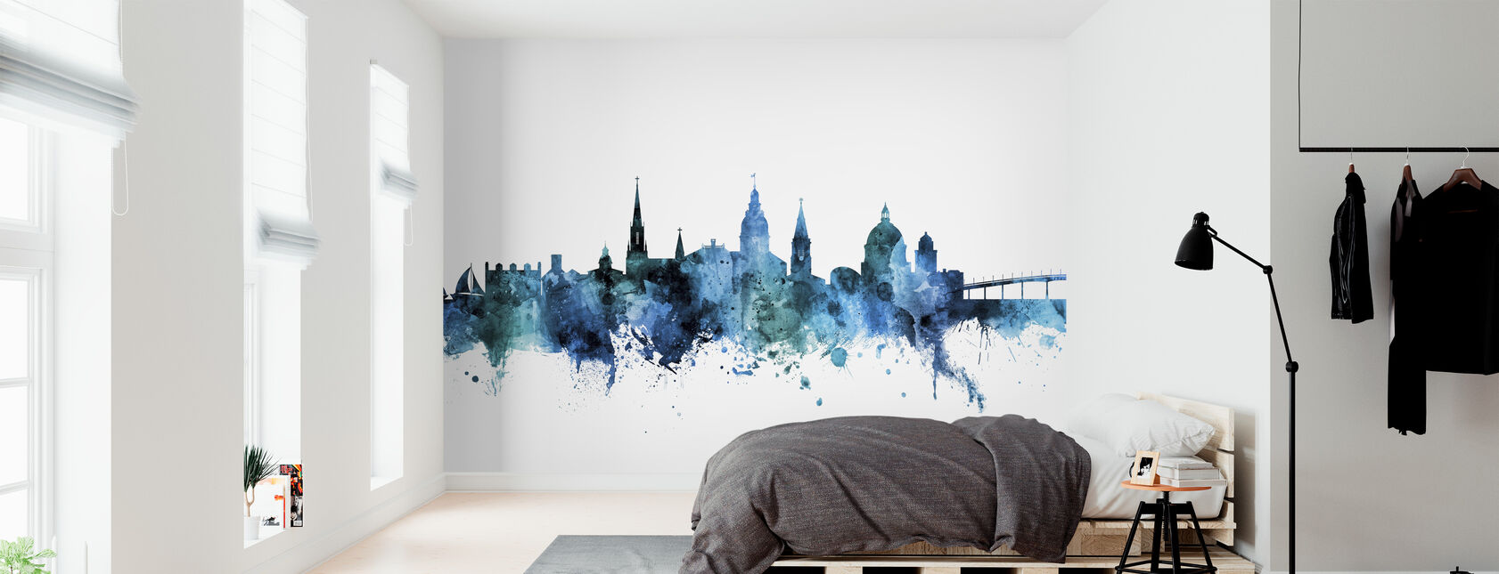 Annapolis Maryland Skyline - Behang - Slaapkamer