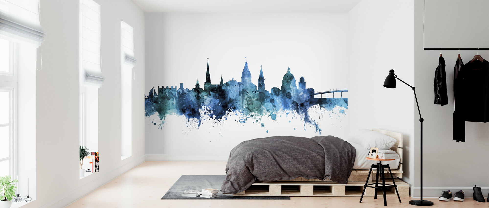 Annapolis Maryland Skyline - Wallpaper - Bedroom