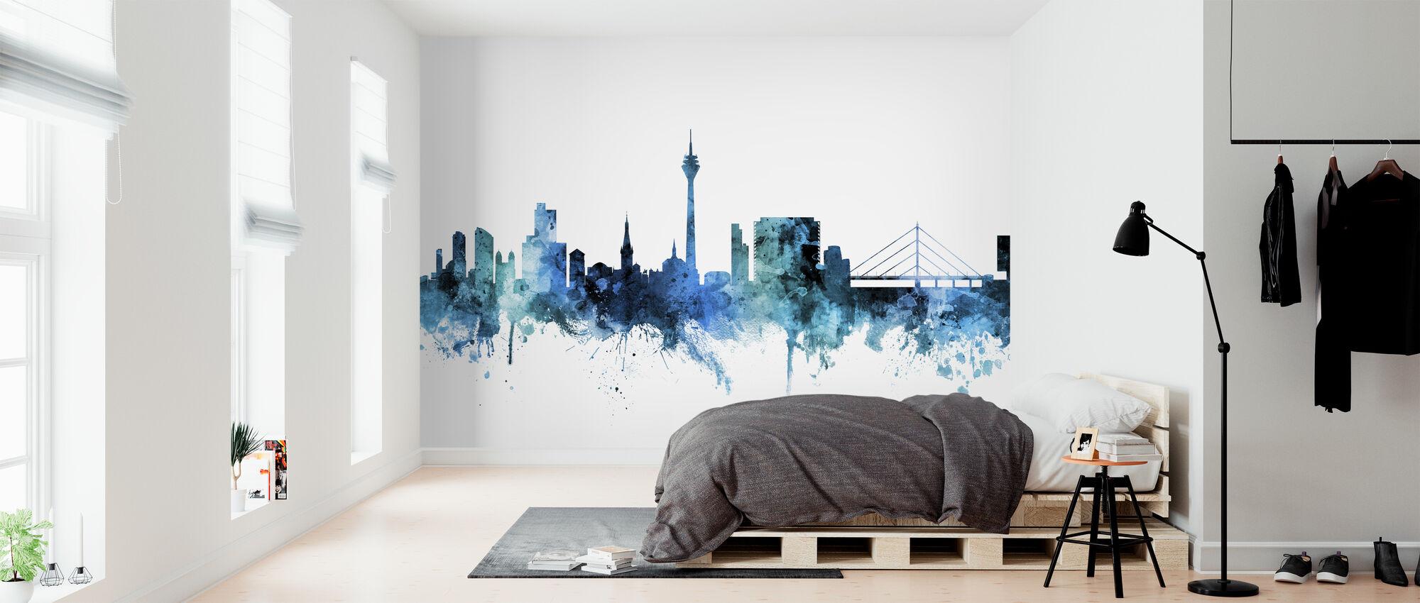 Dusseldorf Germany Skyline - Wallpaper - Bedroom