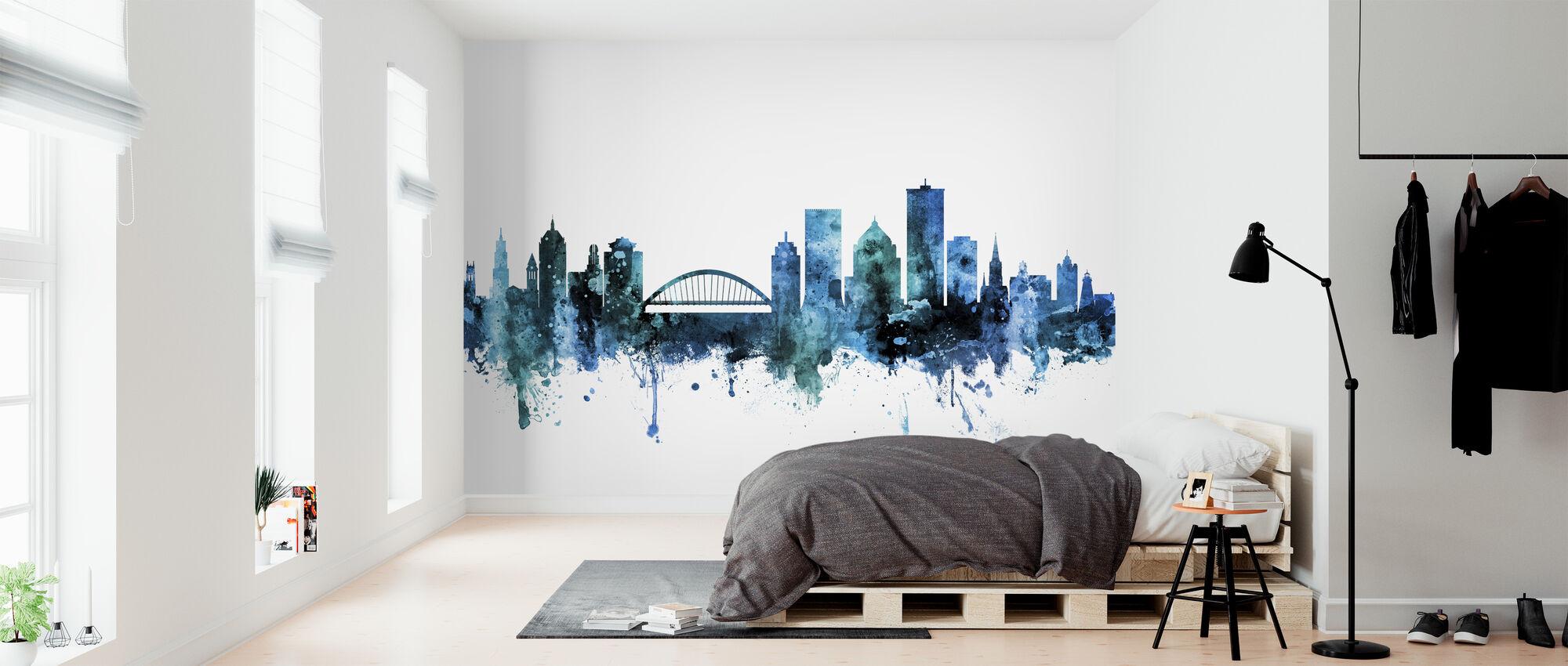 Rochester New York Skyline - Wallpaper - Bedroom