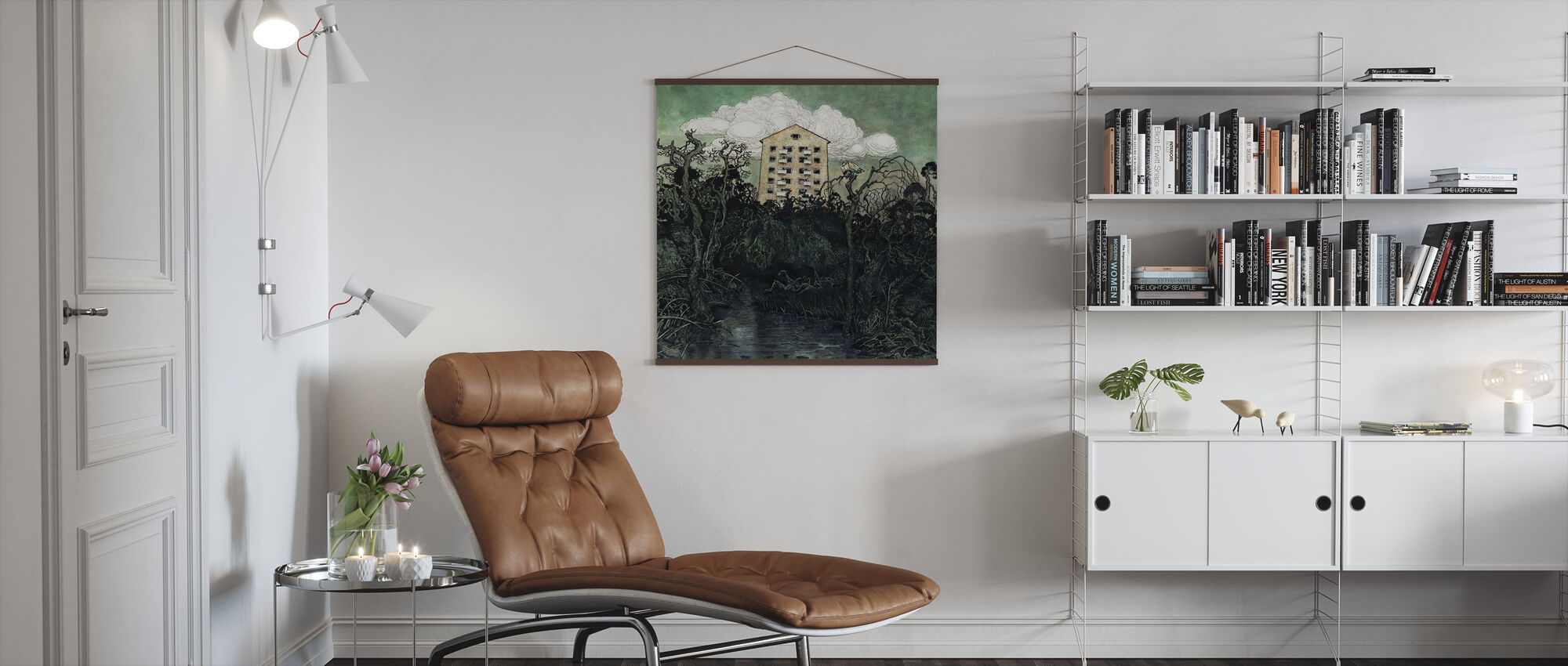Tower Owl - Poster - Living Room