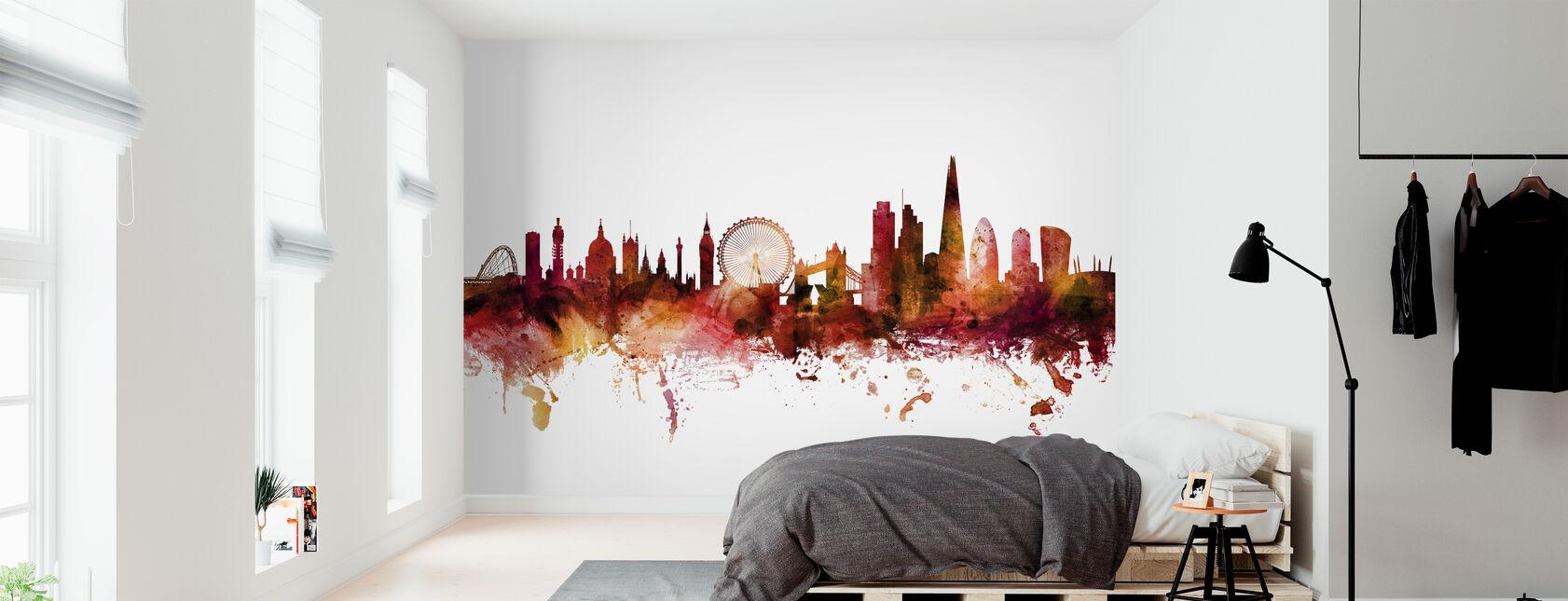 London England Skyline - Wallpaper - Bedroom
