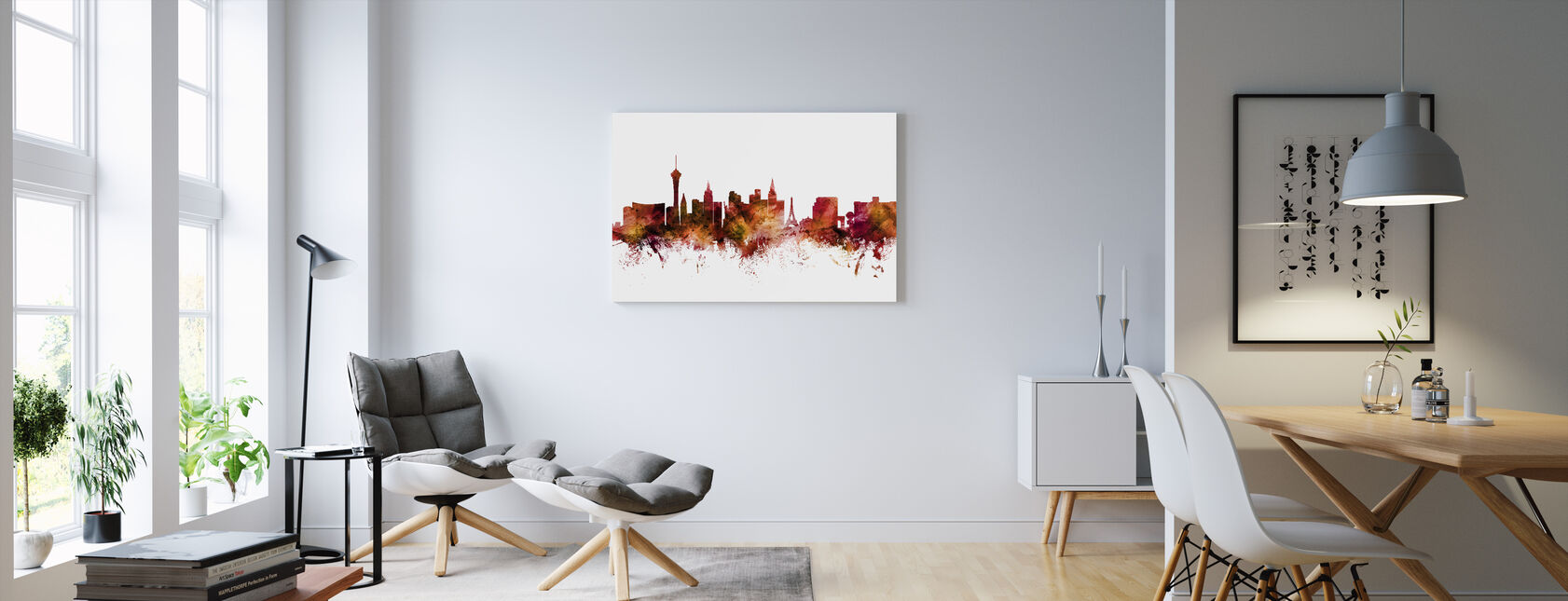 Las Vegas Nevada - Canvas print - Woonkamer