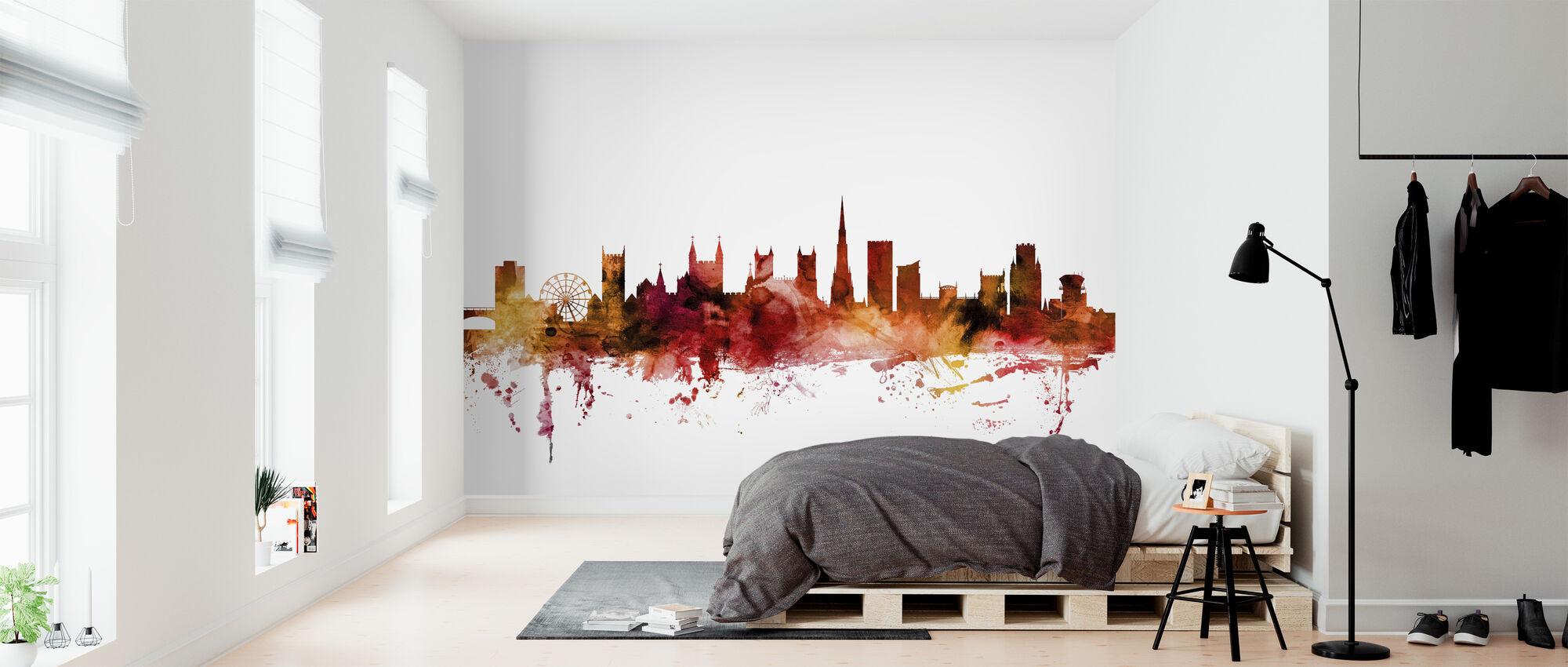 Bristol England Skyline - Wallpaper - Bedroom