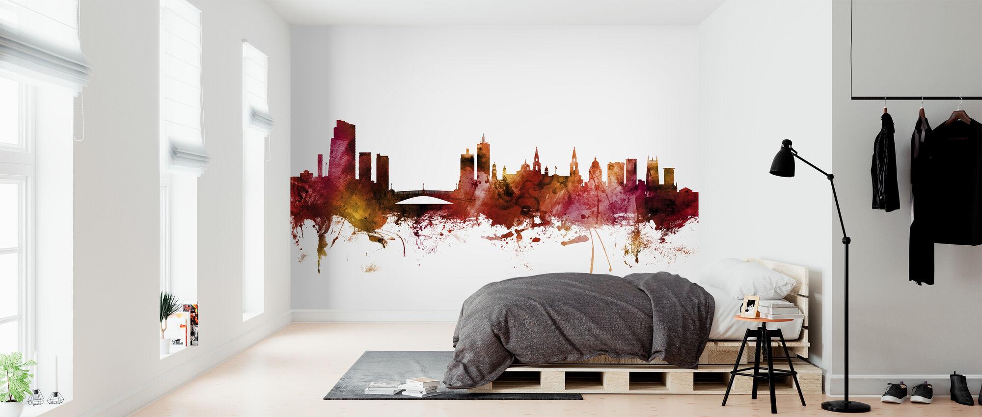 Leeds England Skyline - Wallpaper - Bedroom
