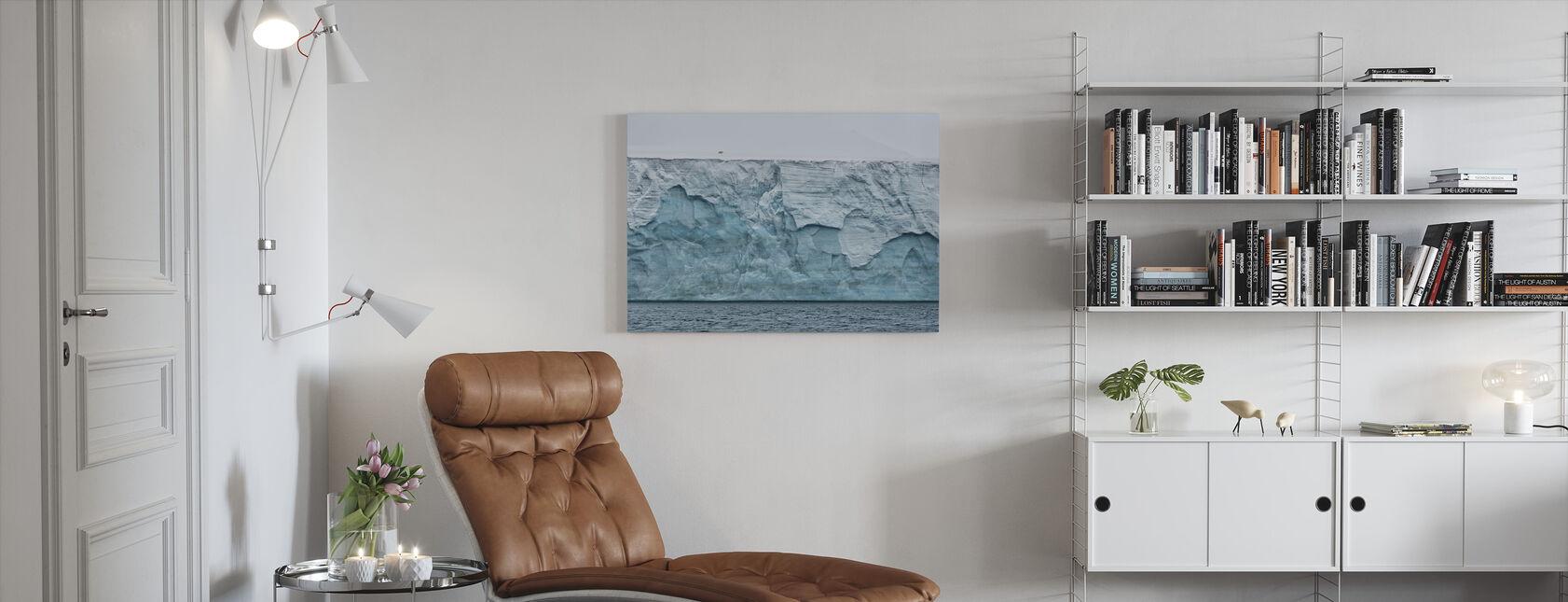 Yksinäinen Polarbear jäätikköllä - Canvastaulu - Olohuone