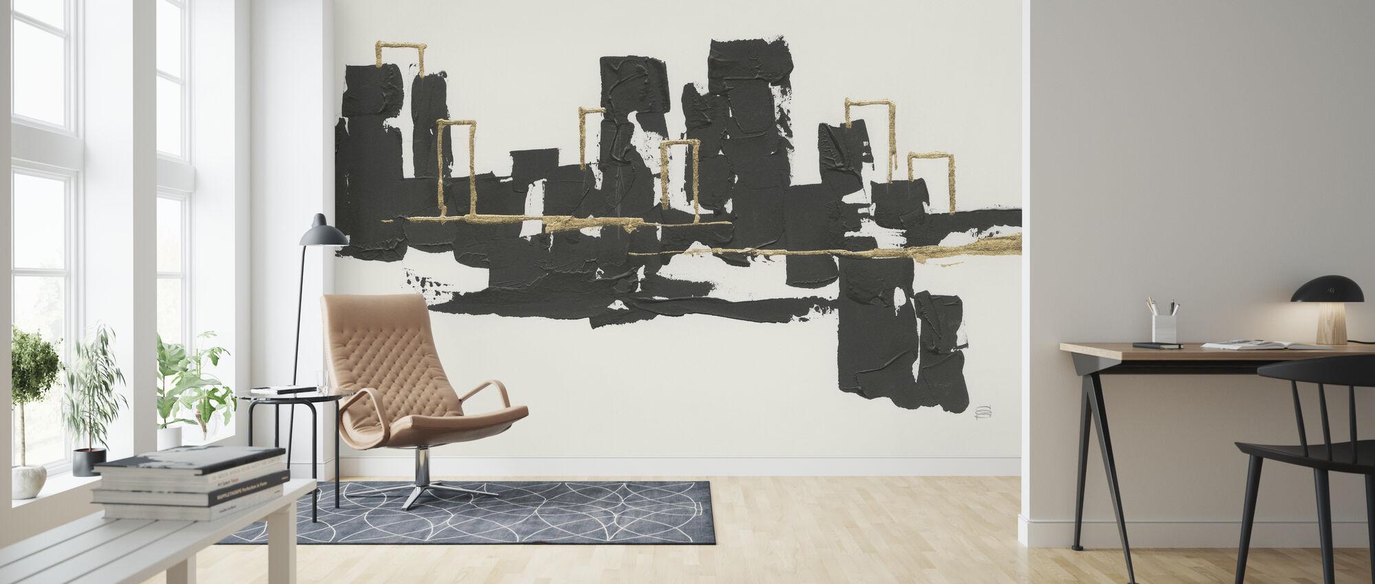 Gilded City I - Wallpaper - Living Room