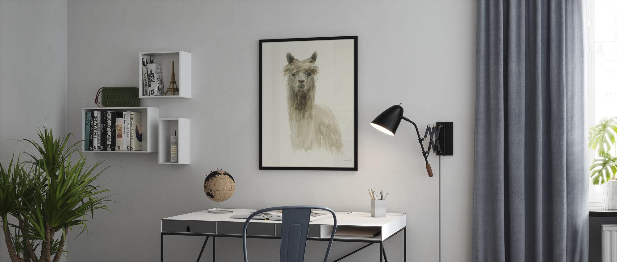 Classic Llamas I - Framed print - Office