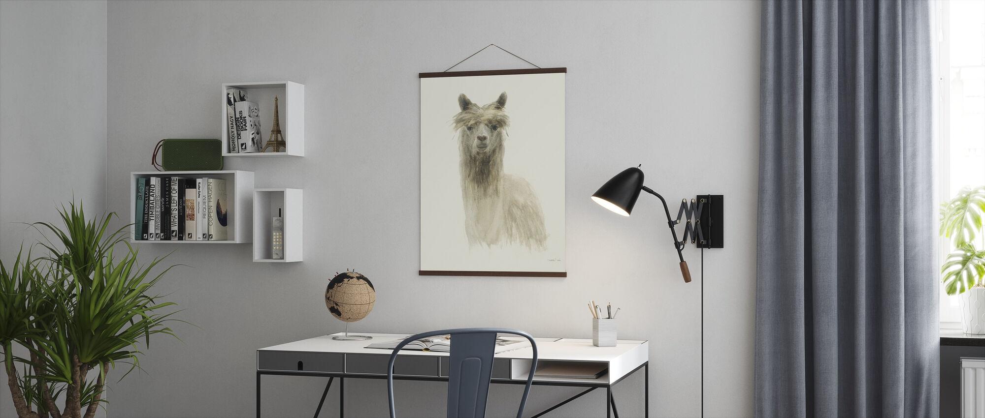Classic Llamas I - Poster - Office