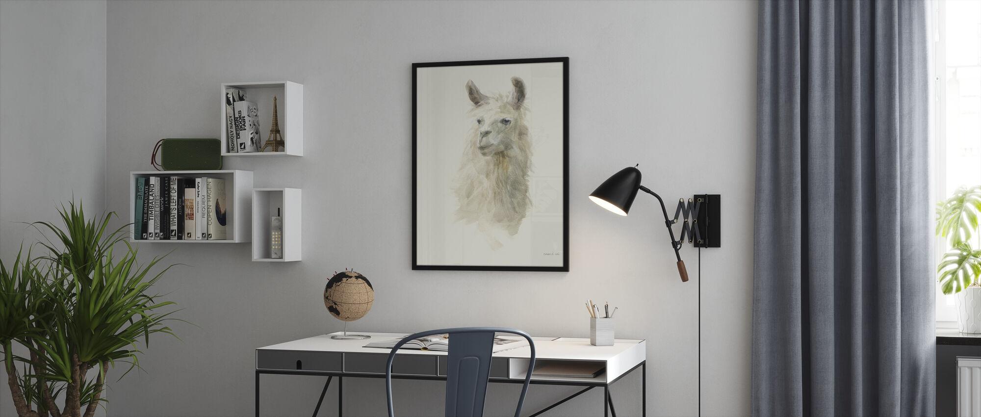 Classic Llamas II - Framed print - Office
