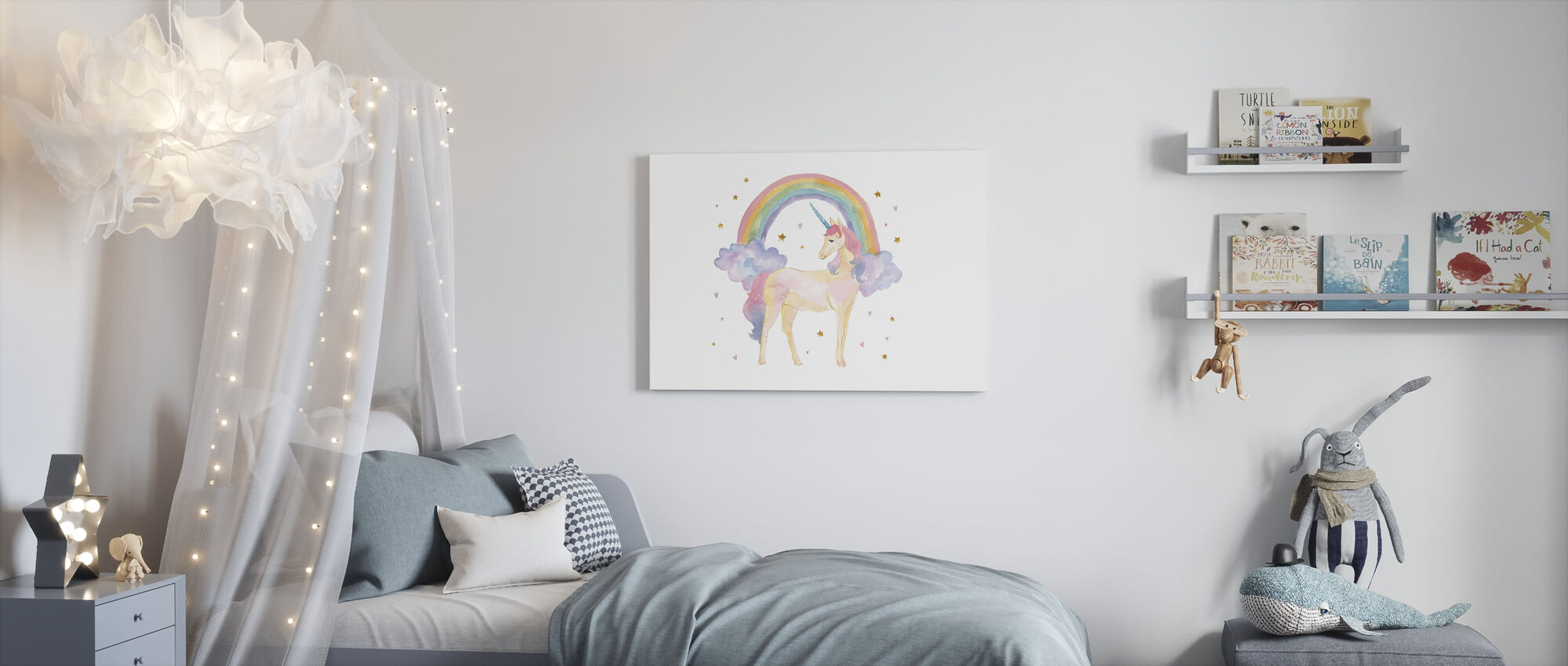Magical Friends I - Canvas print - Kids Room
