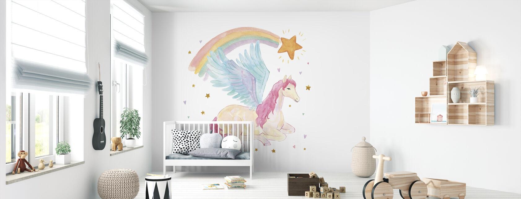 Magical Friends II - Wallpaper - Nursery