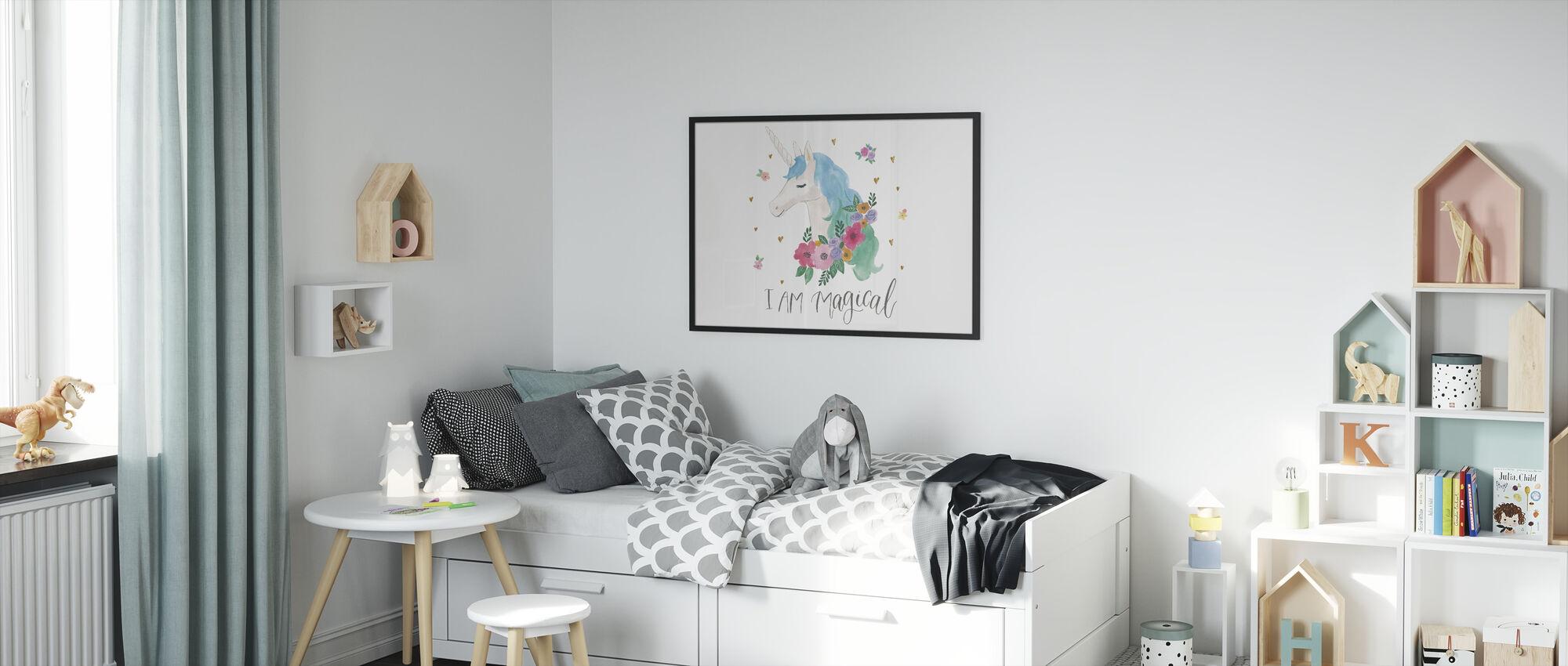 Magical Friends IV - Framed print - Kids Room
